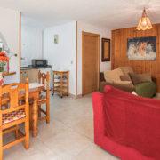 Salón de apartamentos rurales en Cantabria